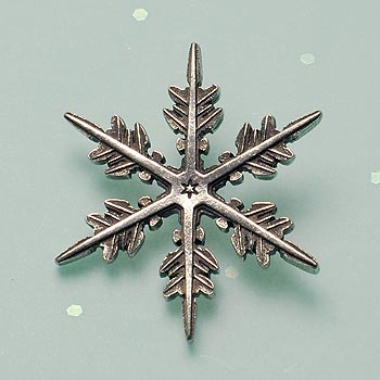 "2011 ""Snowflake"" Bentley Scatter Pin"