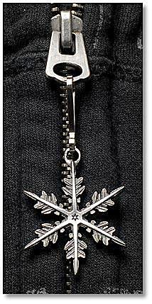 "2011 ""Snowflake"" Bentley Zipper Pull"