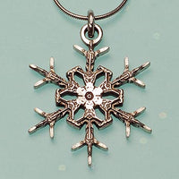 "2012 ""Snowflake"" Bentley Necklace"