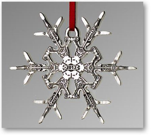 "2012 Snowflake ""Bentley"" Ornament"