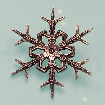 "2012 ""Snowflake"" Bentley Scatter Pin"