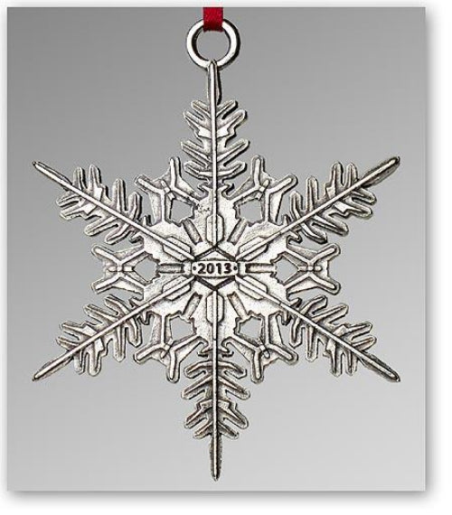 "2013 Snowflake ""Bentley"" Ornament"