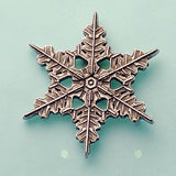 "2013 ""Snowflake"" Bentley Scatter Pin"