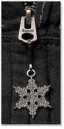"2013 ""Snowflake"" Bentley Zipper Pull"