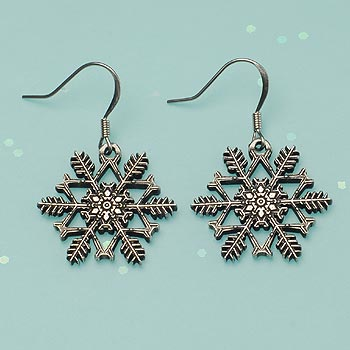 "2014 ""Snowflake"" Bentley Earrings"