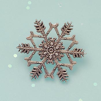 "2014 ""Snowflake"" Bentley Scatter Pin"