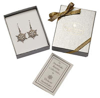 "2015 ""Snowflake"" Bentley Earrings"