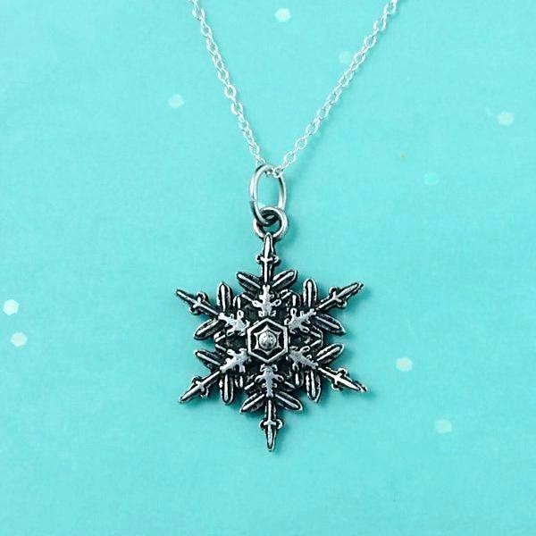 "2015 Mini ""Snowflake"" Bentley Necklace"