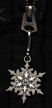 "2015 ""Snowflake"" Bentley Zipper Pull"