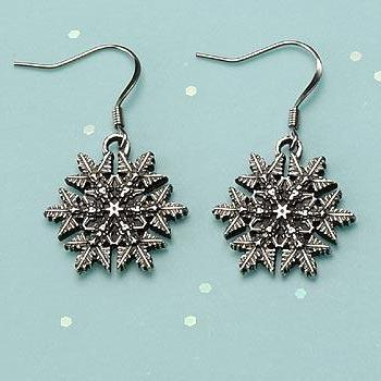 "2016 ""Snowflake"" Bentley Earrings"