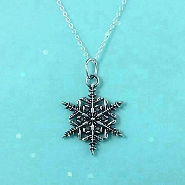"2017 Mini ""Snowflake"" Bentley Necklace"