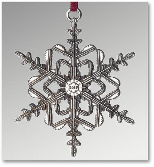 "2017 Snowflake ""Bentley"" Ornament"