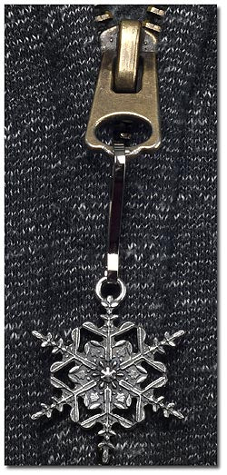 "2017 ""Snowflake"" Bentley Zipper Pull"
