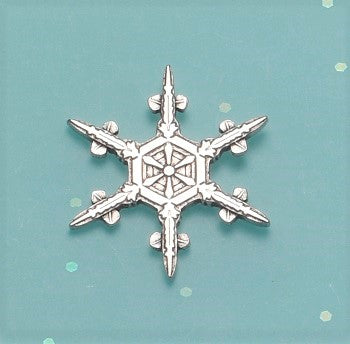 "2019 ""Snowflake"" Bentley Scatter Pin"