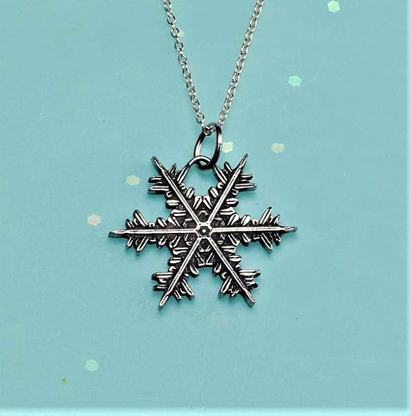 "2020 Mini ""Snowflake"" Bentley Necklace"