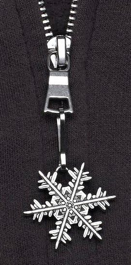 "2020 ""Snowflake"" Bentley Zipper Pull"