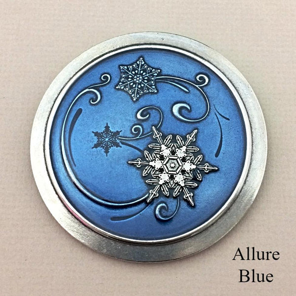 Snowflake Purse Mirrors