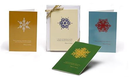 """Snowflake"" Bentley Note Cards"
