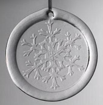 Snow Crystal Suncatcher