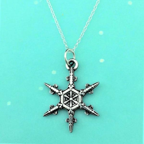 "2019 Mini ""Snowflake"" Bentley Necklace"