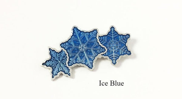 Snowflake Bentley Brooches