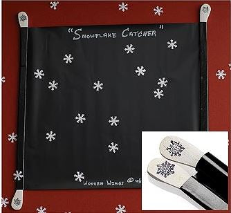 Portable Snowflake Catcher