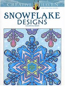Snowflake Design Coloring Book
