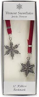 """Snowflake"" Bentley Wine Bookmark"