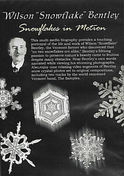 Snowflakes in Motion DVD