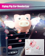Load image into Gallery viewer, Flying Pig Car Deodorizer