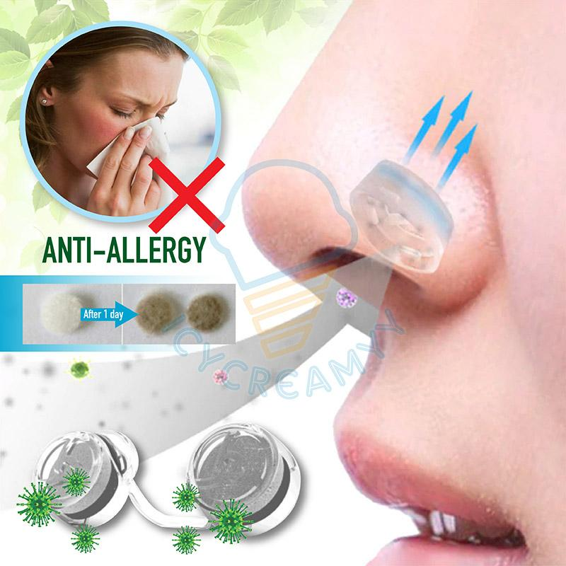 Invisible Anti-Allergy Nasal Filters