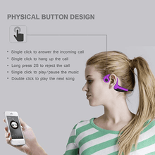 Load image into Gallery viewer, Bone Conductor Wireless Headset