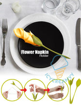 Load image into Gallery viewer, Flower Napkin Holder