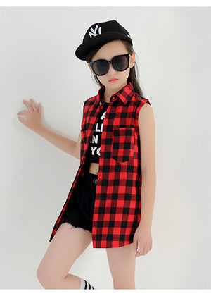 3pcs Girls Streetstyle Hip Hop Set