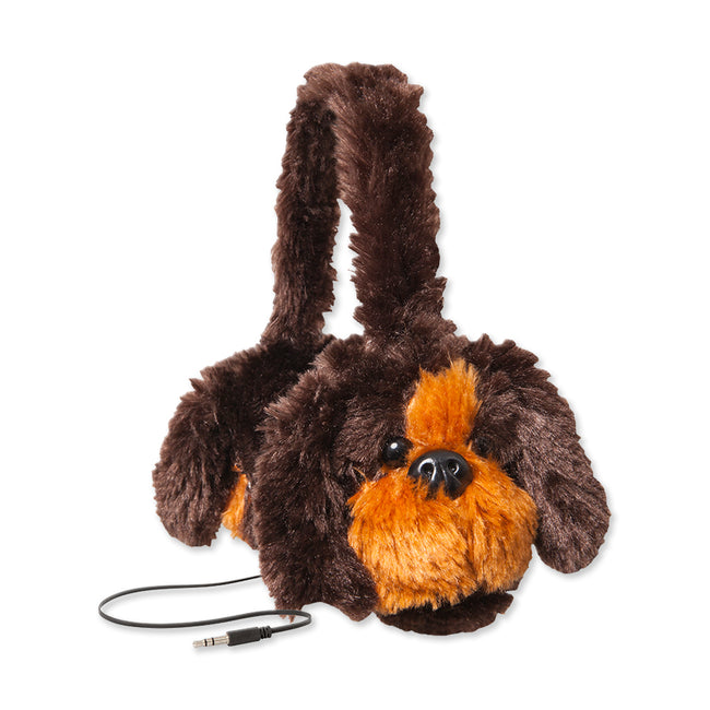 Animalz Ear Headphones Dog | Headphones for Kids | Retractable Cord