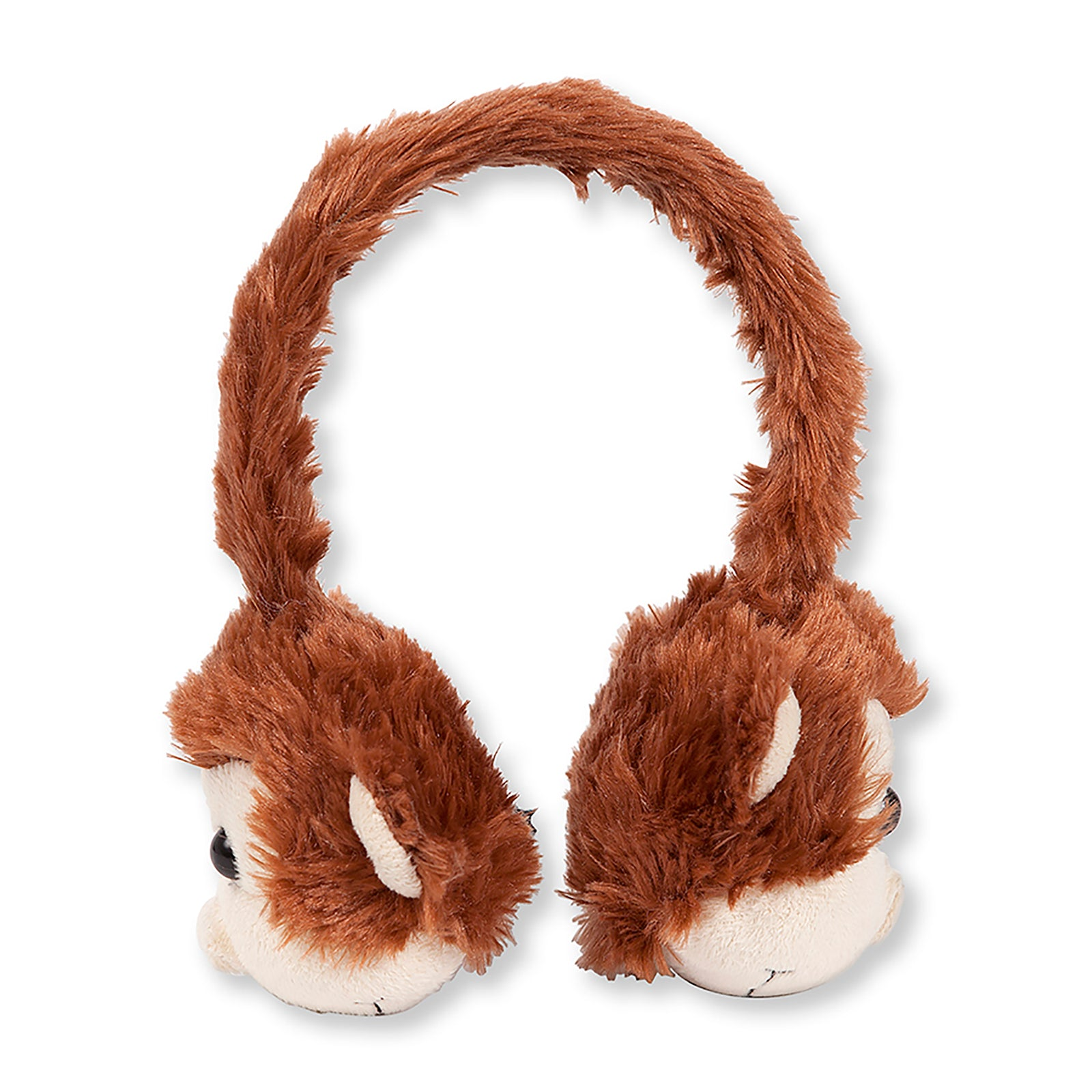 Animalz Ear Headphones Monkey | Over-Ear Headphones | Retractable Headphone Cable