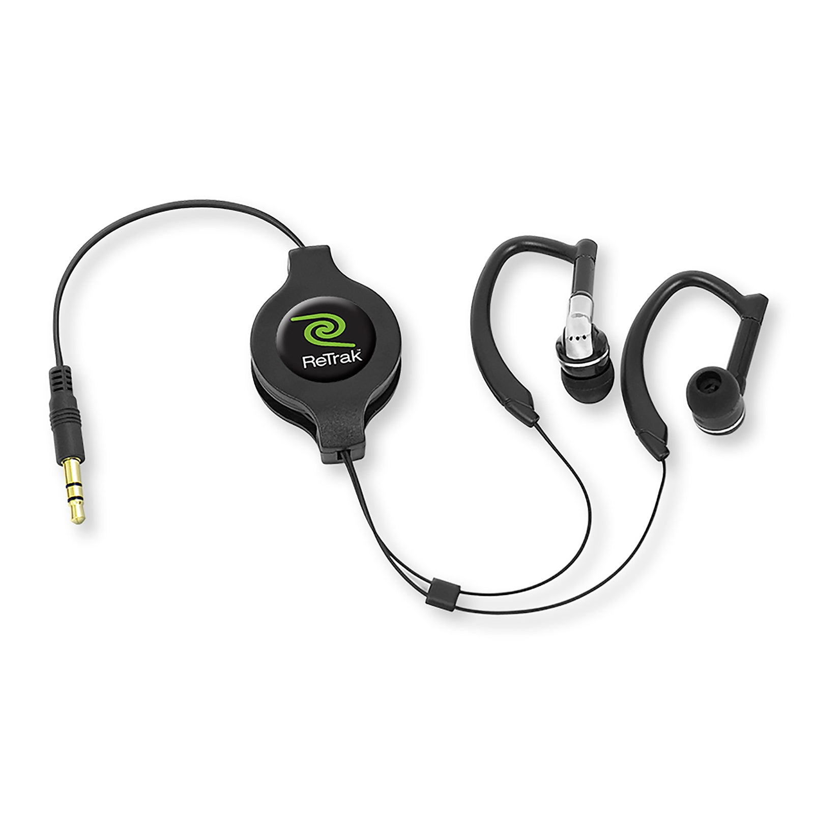 Wrap Around Earbuds | Retractable Cable | Sports Earphones
