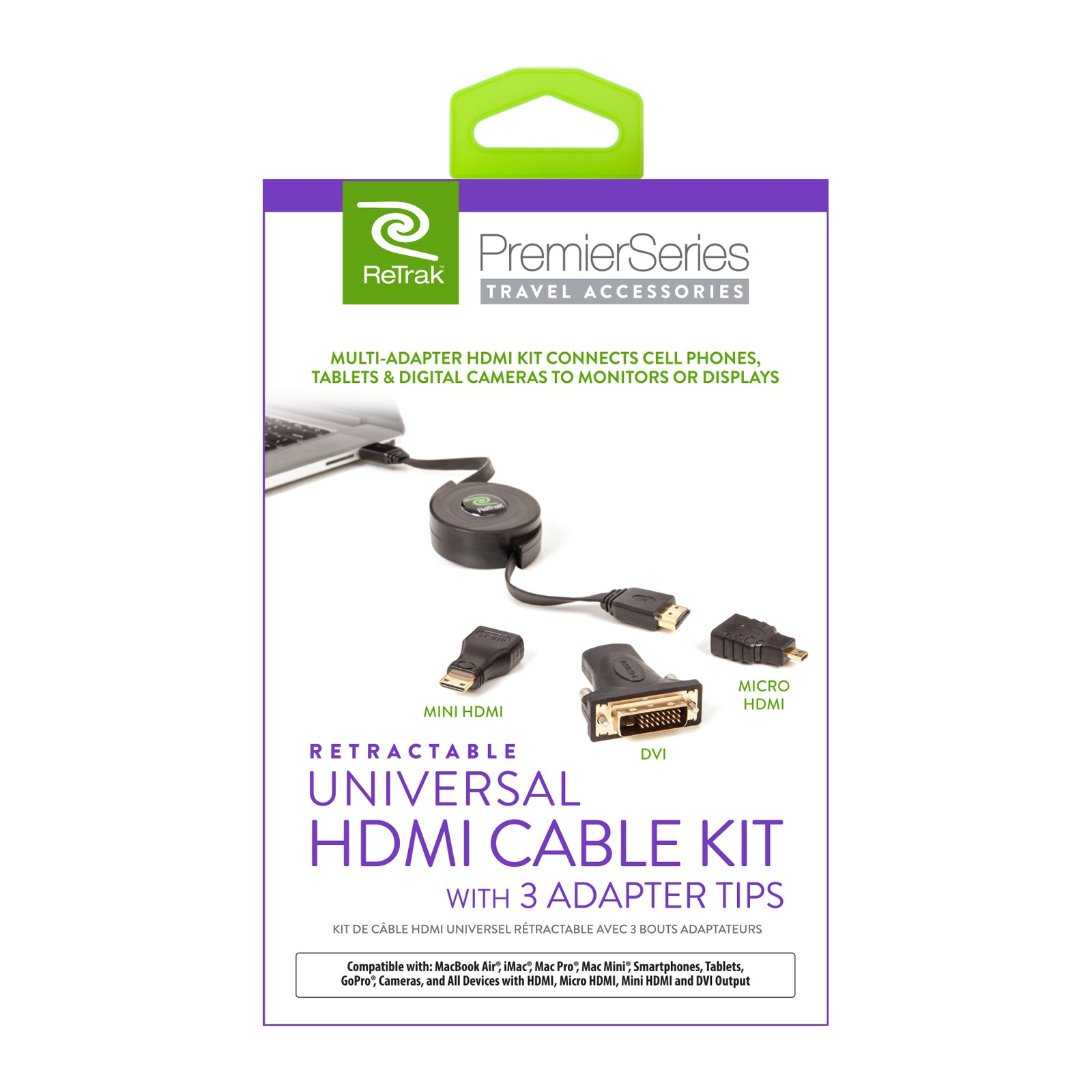 Cable HDMI Adapters | Mini HDMI, Micro HDMI, and DVI Adapters | Retractable Adapter HDMI Cable
