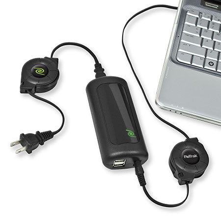 Retractable Laptop Charger Adapter | Universal Laptop Charger & Power Adapter