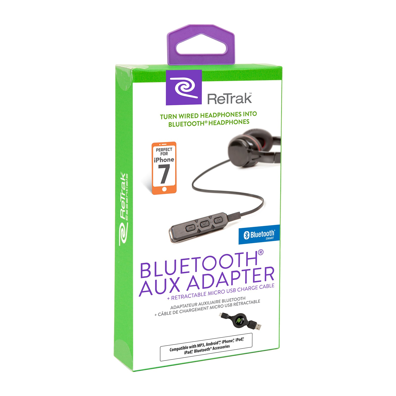 Bluetooth Aux Adaptor | Bluetooth AUX to 3.5mm Adaptor