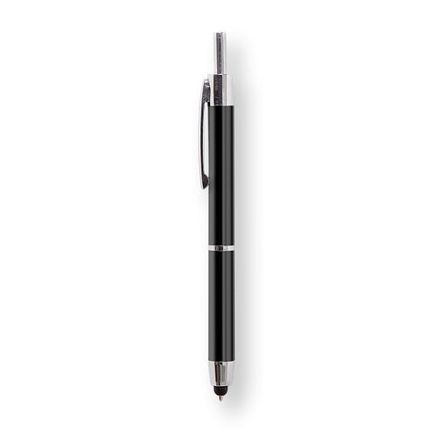 Silver Carbon Stylus Pen | Retractable Premier Series Stylus Pen