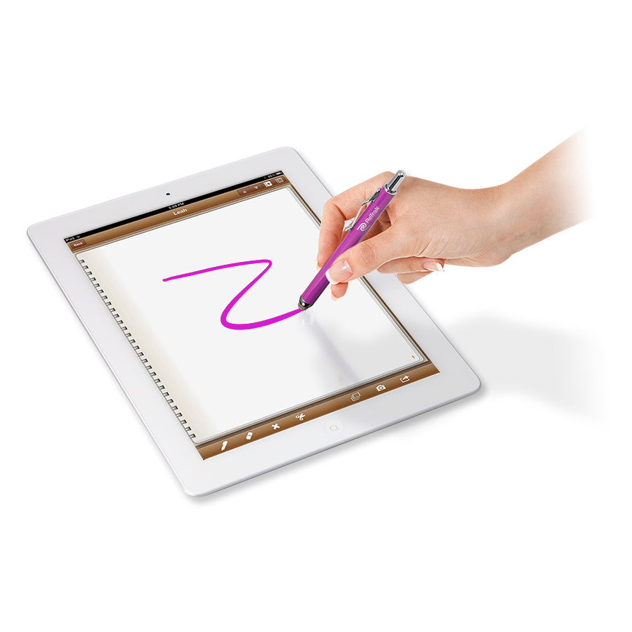 Stylus Pen | Retractable Active Stylus Pen | Purple