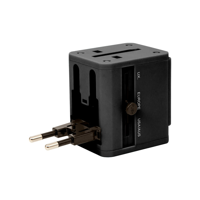 Universal Travel Adapter | Built-in Dual USB Charger | Universal Plug Adapter