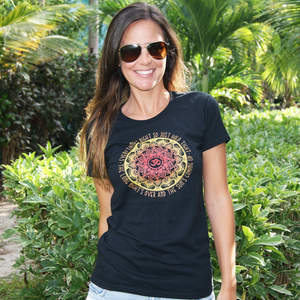 Women's 'Everything's Right' Mandala Tee