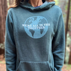 Women's Bathtub Gin Hoodie - We're all in this together, Unisex