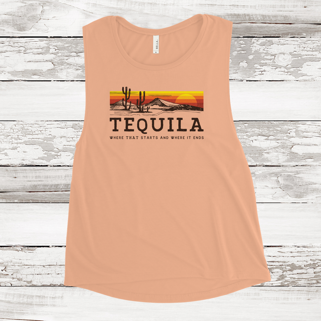 Women's Muscle Tank - Mexican Cousin
