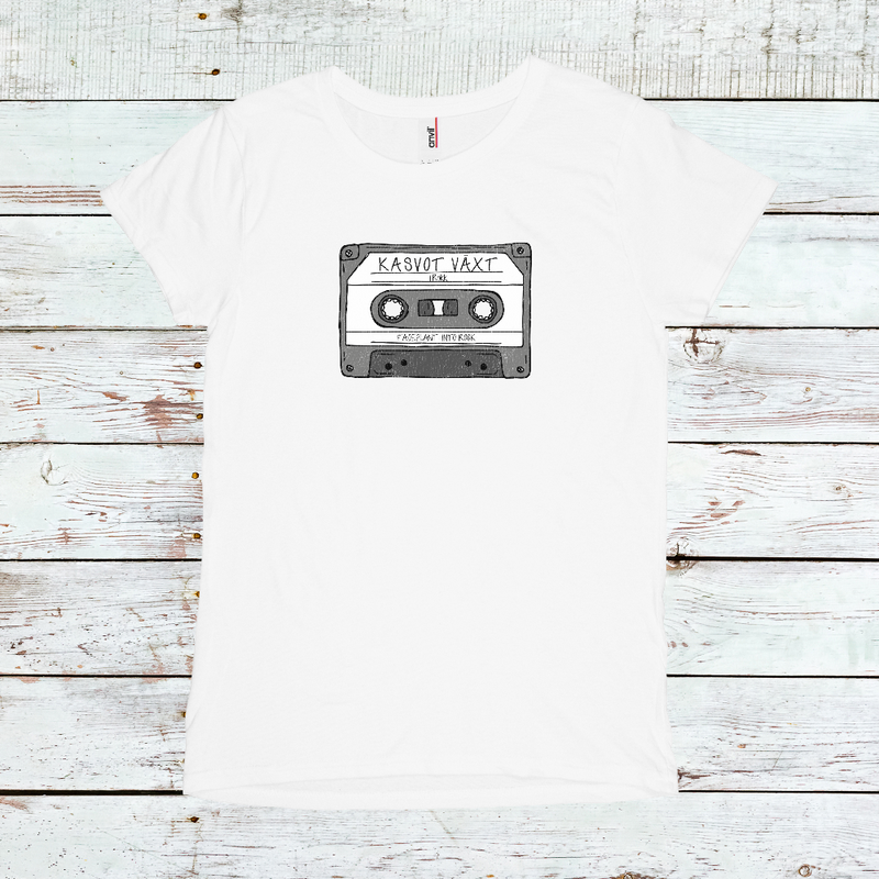 Women's Kasvot Vaxt Mix Tape Tee