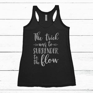 Women's Tank - The Lizards, Surrender to the Flow