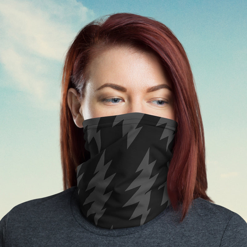 Lightning Bolt Neck Gaiter/Face Shield