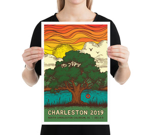 Phish Poster - Charleston, SC 2019